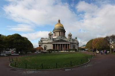 City Tour of St. Petersburg with visit to St. Isaacs Cathedral