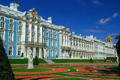 Tour of Pushkin: Catherine Palace and Park, Amber Room