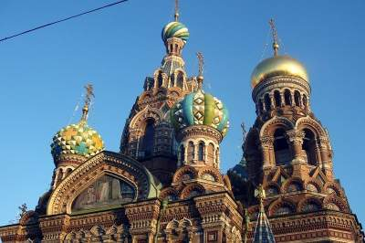 Cathedral of the Saviour on the Spilled Blood walking tour