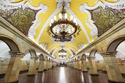 Moscow Metro walking tour