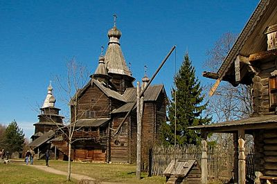 Vitoslavlitsy Museum of Wooden Architecture