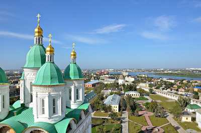 Ascension Cathedral, Astrakhan, Russia