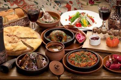 Russian, Georgian and Uzbek Culinary Packages