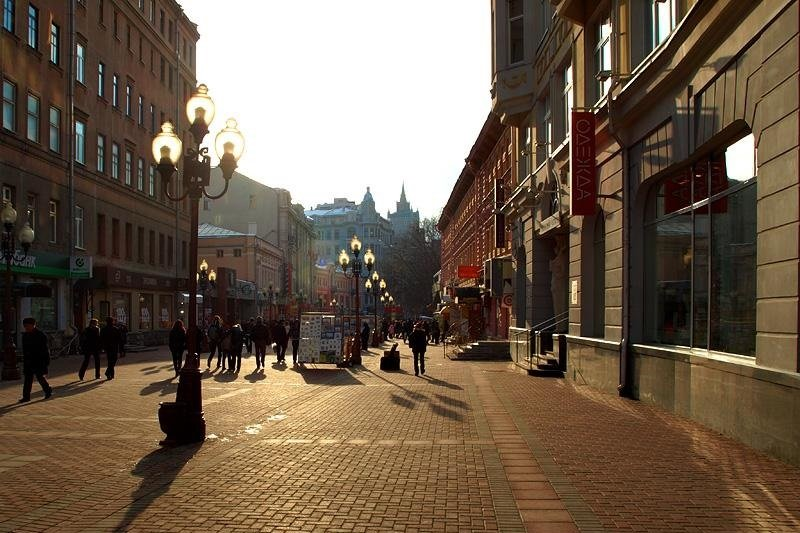 Old Arbat walking tour