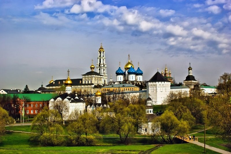 The Trinity St. Sergius Monastery (Lavra), Moscow region, Russia