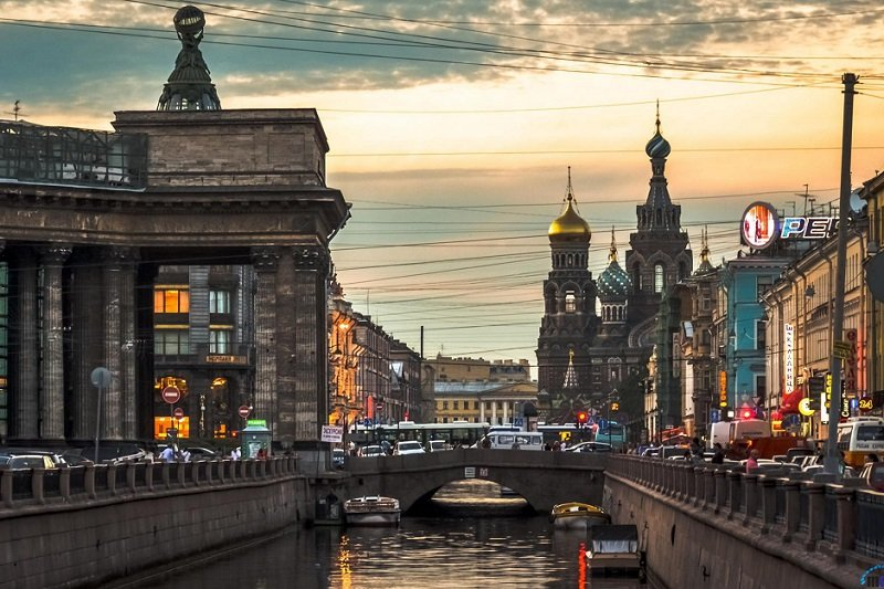 City of canals, St. Petersburg, Russia