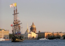 The Neva River, Russia