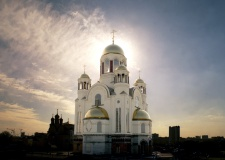 The Yekateriburg Church on the Blood, Russia