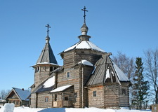 Suzdal wooden heritage, Russia