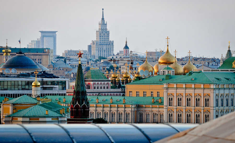 Best cities to visit in Russia - Moscow