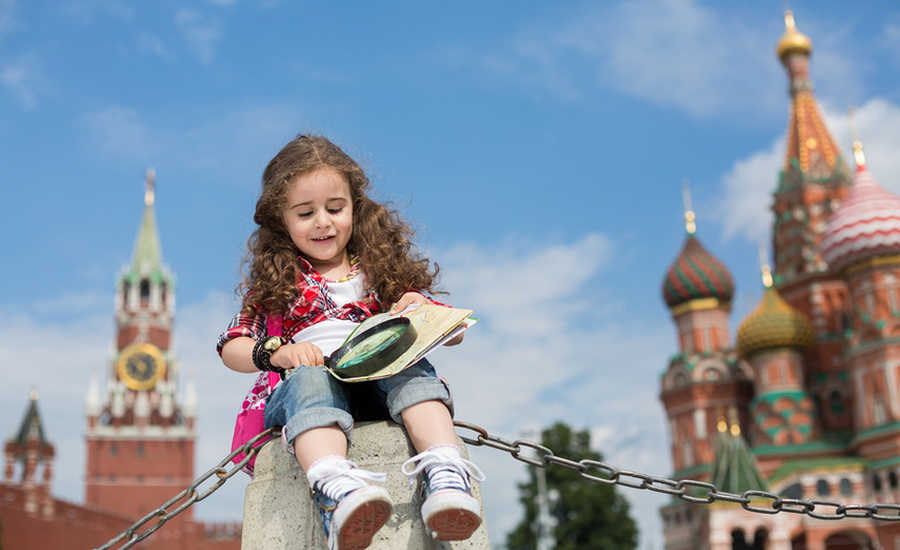 Fun for kids in Moscow