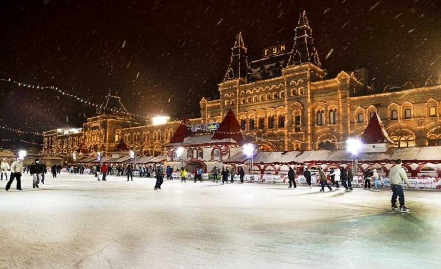 Winter Activities in Moscow - Ice Skating