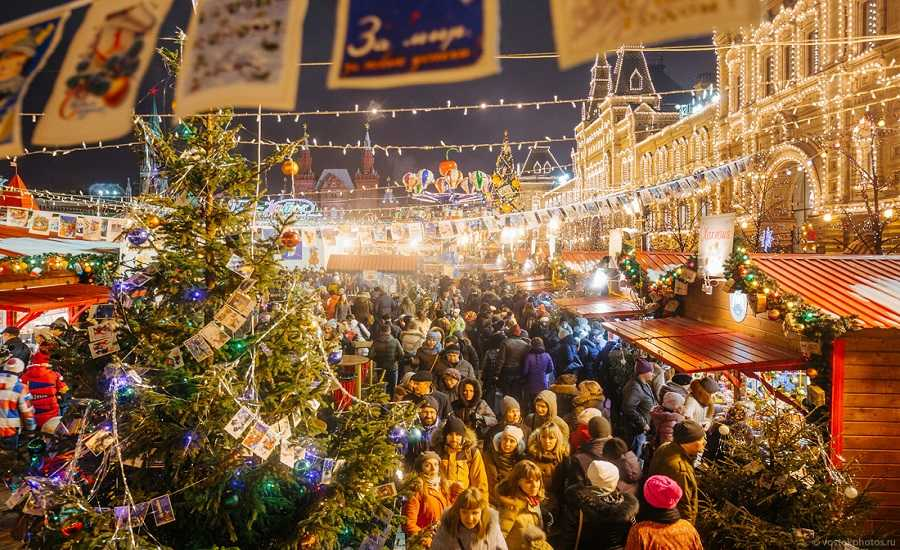 Winter Activities in Moscow - Markets