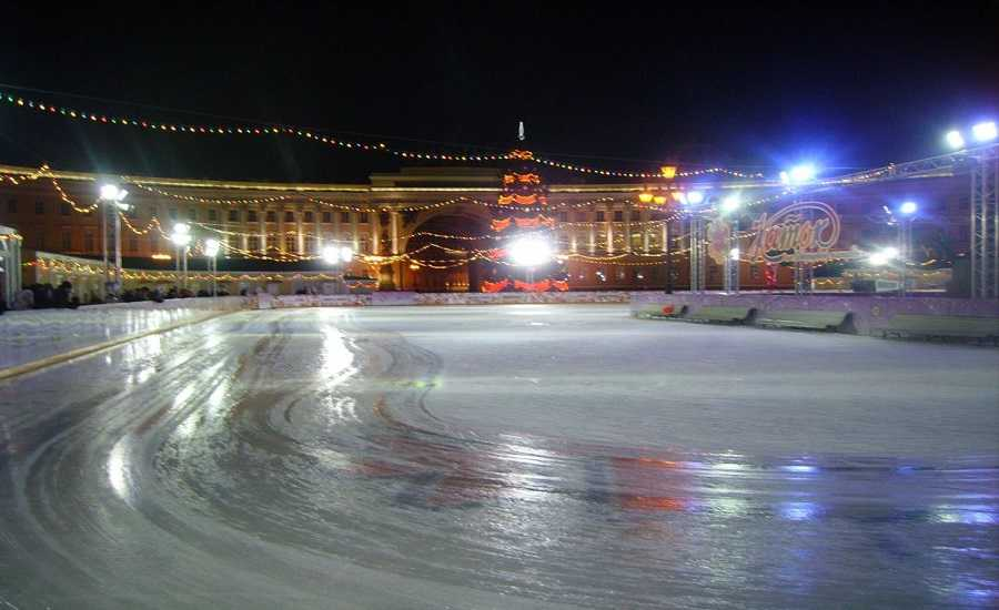 Winter Activities in St.Petersburg - Ice skating