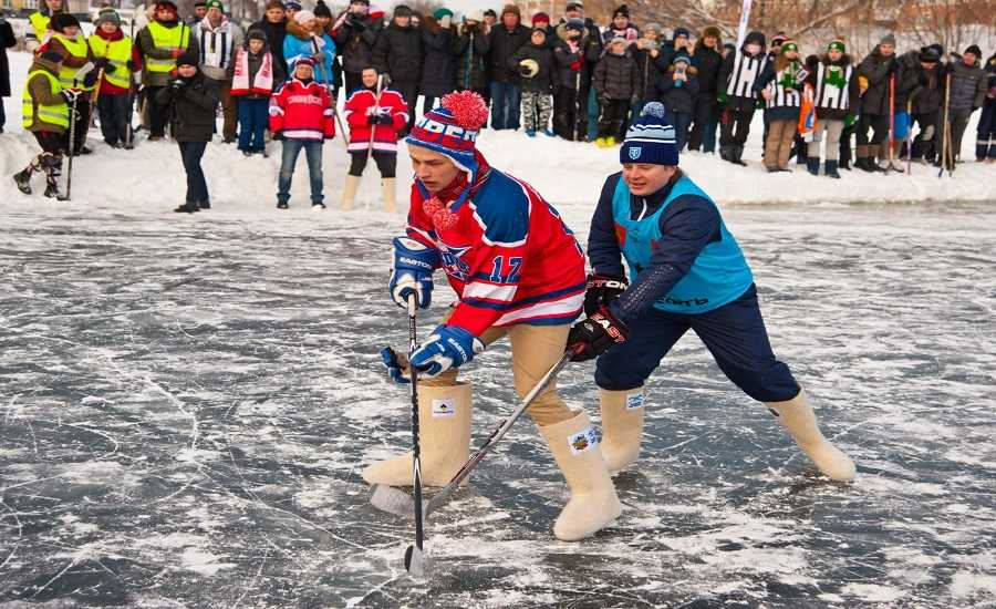 Winter Activities in St.Petersburg - Hockey