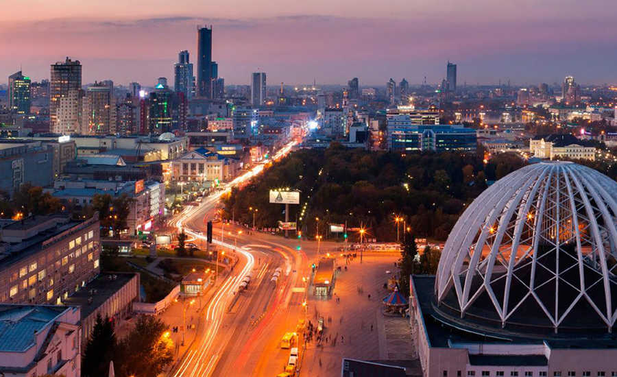 10 Largest Cities in Russia - Yekaterinburg