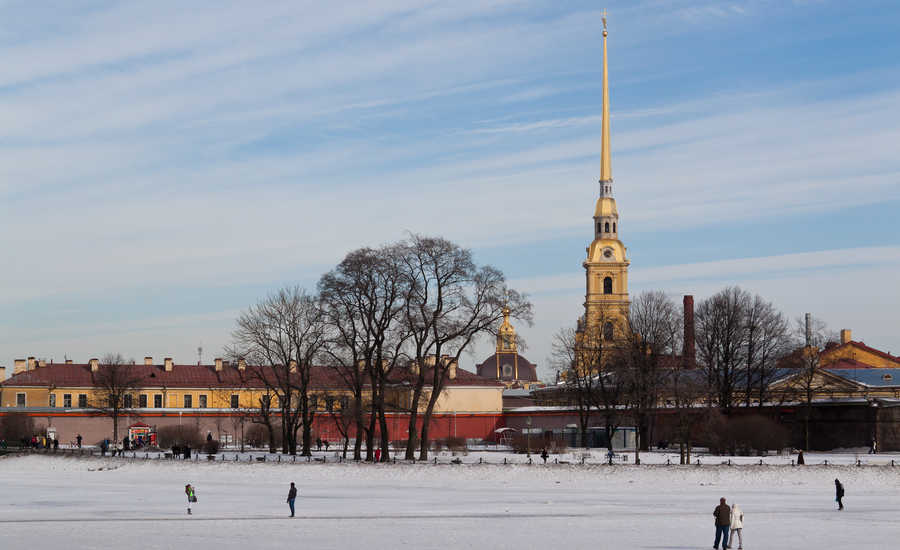 History at the Peter and Paul Fortress