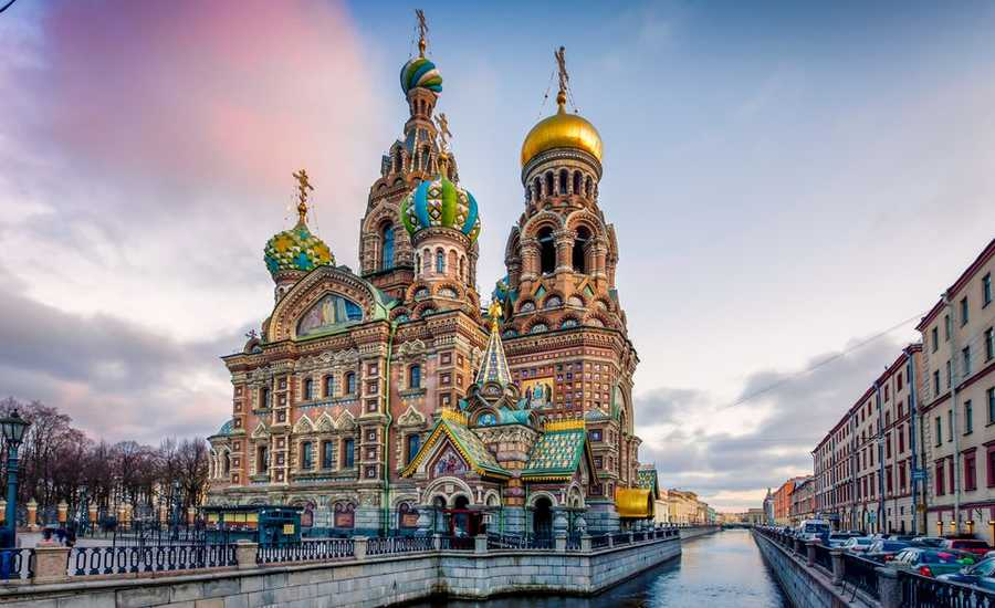 St. Petersburg - capital of the district