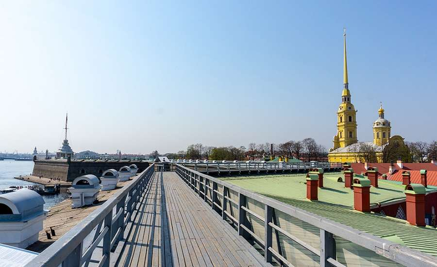 Nevskaya Panorama in Peter and Paul Fortress, St. Petersburg