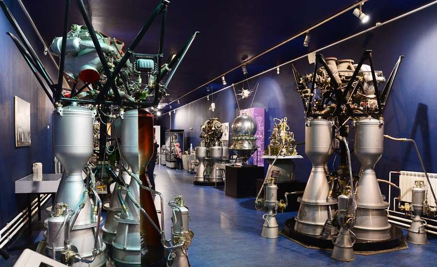 Museum of Cosmonautics and Rocket Technology in Peter and Paul Fortress, St. Petersburg