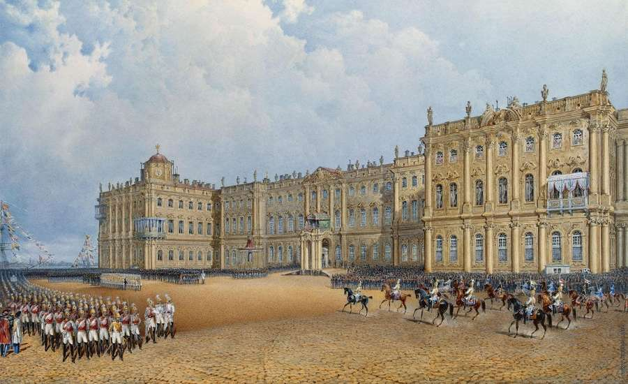 Winter Palace in the 18th century