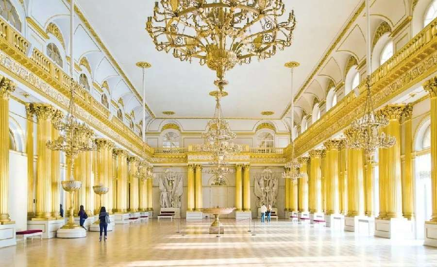 Armorial Hall at the Hermitage