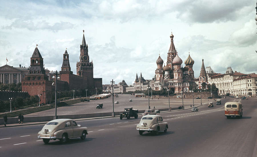 The Moscow Kremlin During Soviet Russia