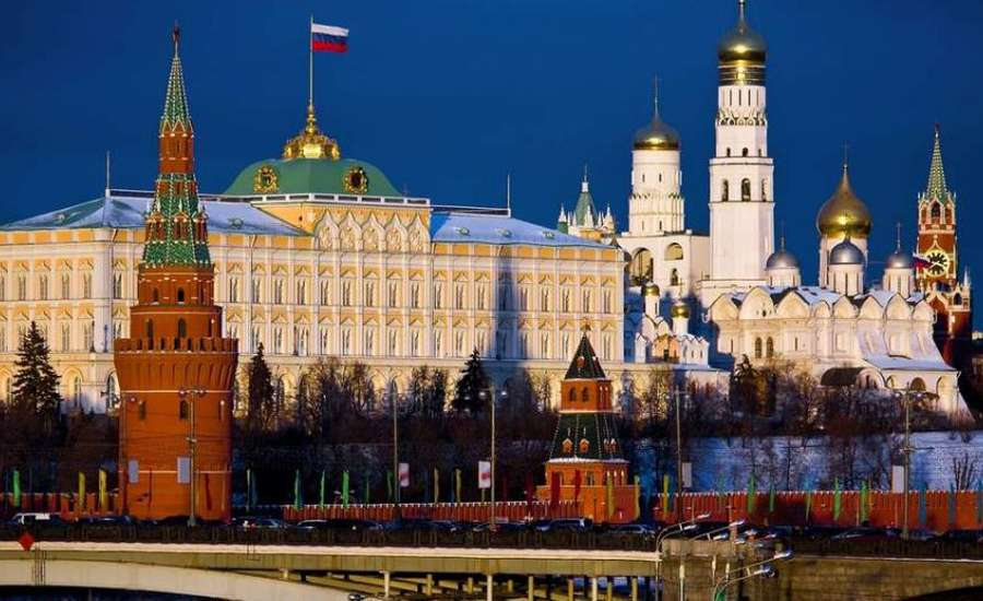 The Moscow Kremlin in Russia today