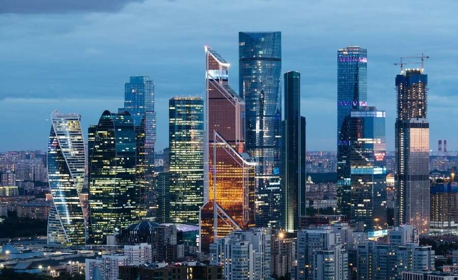 Moscow city, Towers