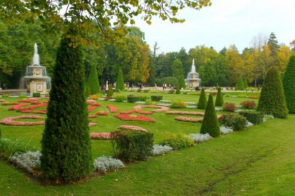 Peterhof Lower Park and Upper Gardens