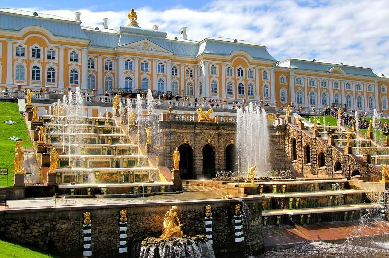Peterhof Grand Palace, Lower Park and Upper Gardens
