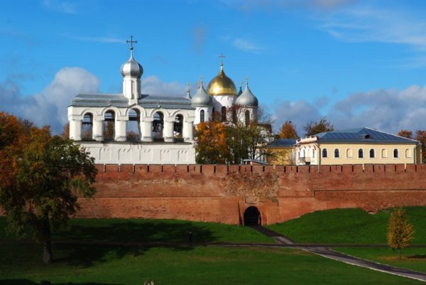 Novgorod Kremlin and St. Sophia Cathedral