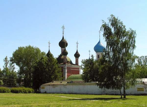 Red Square of Pereslavl Zalessky