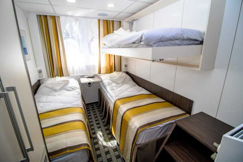 Triple cabin on MS Nizhny Novgorod