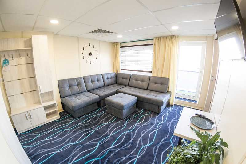 Suite cabin on MS Moonlight Sonata