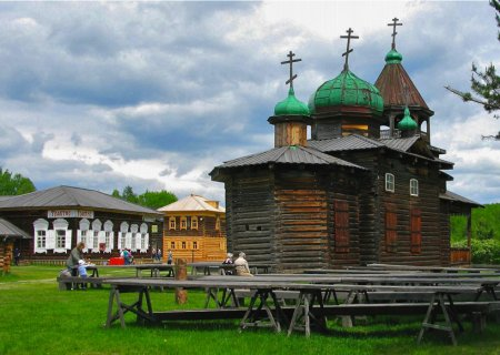 "The Ethnographical museum ""Taltsy"", Russia"