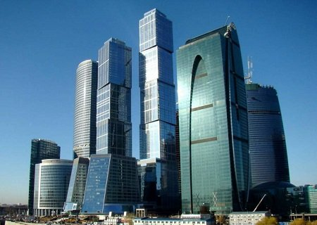 The Moscow International Business Center, Russia