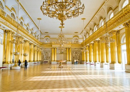 The Winter Palace, St Petersburg, Russia