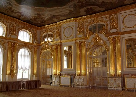 The Amber room, Russia