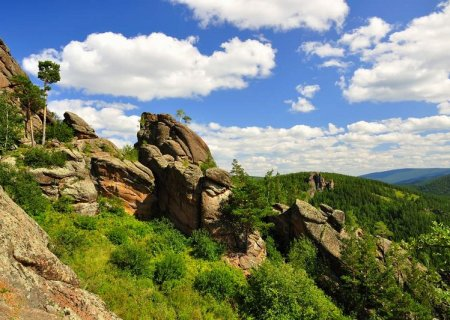 Krasnoyarsk Stolby Mountains, Russia