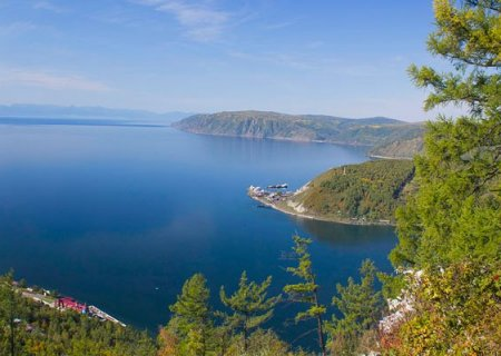 Lake Baikal view, Russia