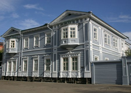 Irkutsk historic-memorial museum of the Decembrists, Russia