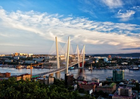 Vladivostok Golden Bridge, Russia