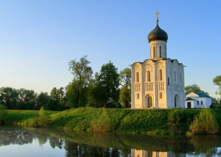The Church of the Intercession on the Nerl, Russia