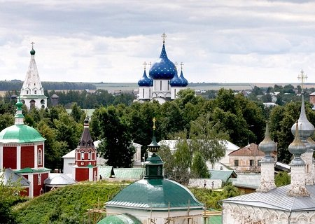 The Suzdal Kremlin, Russia