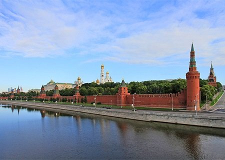 The Kremlin Wall, Moscow, Russia