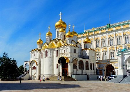 The Cathedral of the Annunciation, Moscow, Russia