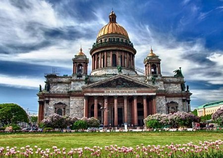 Saint Isaac's Cathedral, St Petersburg, Russia