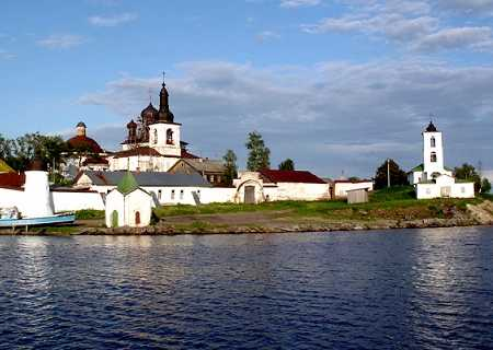 The Monastery of St. Cyril on the White Lake, Russia