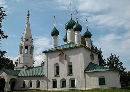 Yaroslavl church, Russia